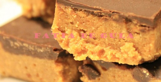 Quadradinhos de Manteiga de Amendoin